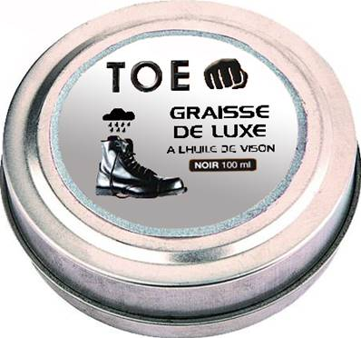 Graisse brillante - Noir - 100 ml - TOE CONCEPT